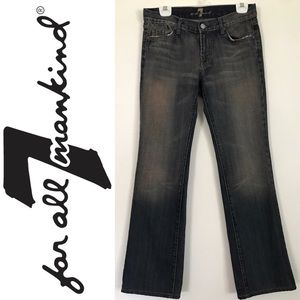 7 For All Mankind Classic Bootcut Denim Size 29